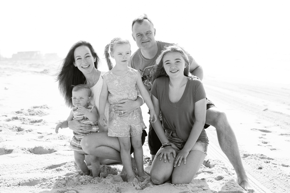 Fire Island Family Portrait Photography