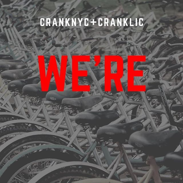 WE WANT YOU! • @cranknyc is hiring front desk staff, maintenance + instructors for IMMEDIATE start! • Ready to roll? DM us for more info, or email support@cranknyc.com • #hiring #hired #jobs #job #fitness #fitnessinspiration #fitnessmotivation #indoorcycling #cycling #cranknyc #nyc #nycfitness
