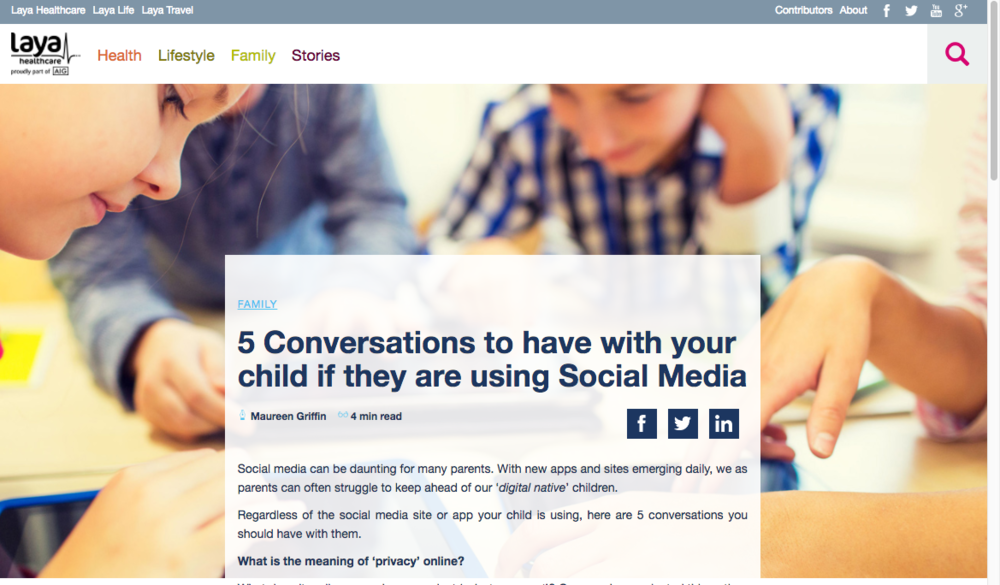 www.mgmstraining.ie/layahub/5 conversations to have with your child if they are using social media