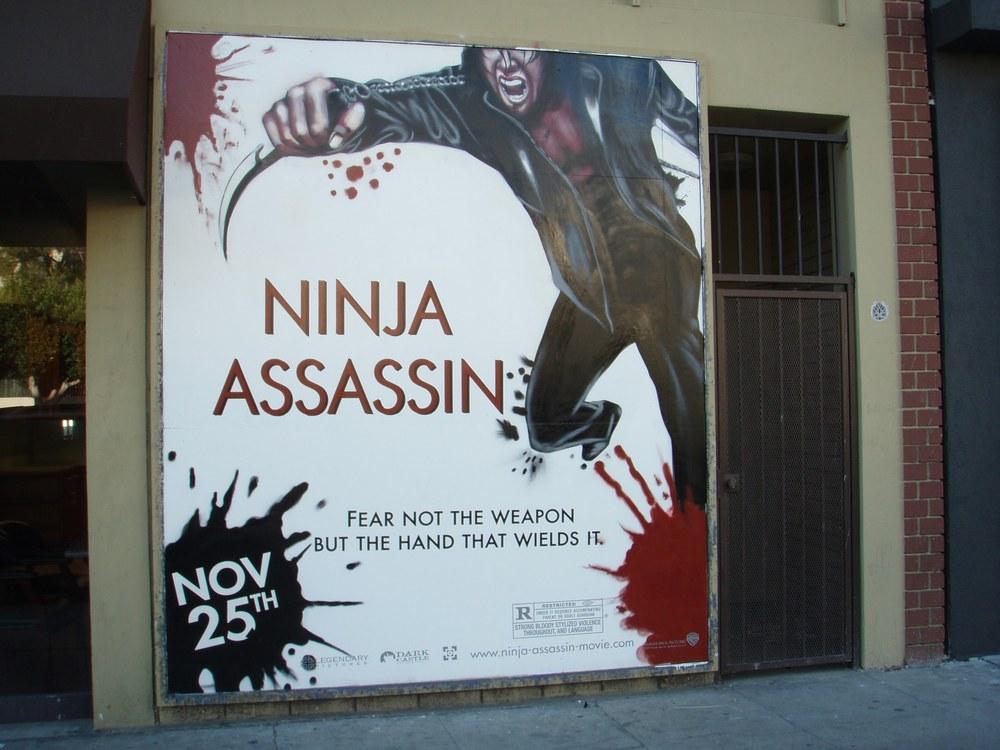 NINJA ASSASSIN MOVIE AD C. 2009