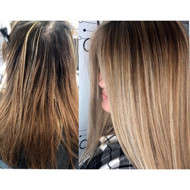 Who wants their own before and after shot going into 2019?! #alchemythesalonct