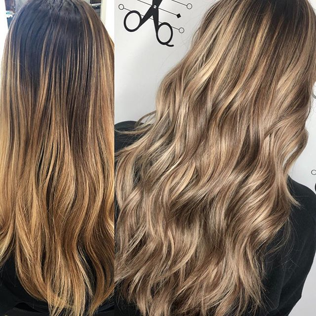 Are you rolling into 2019 with old hair? Not my girl @courtneyarison 🔥🌟 #alchemythesalonct