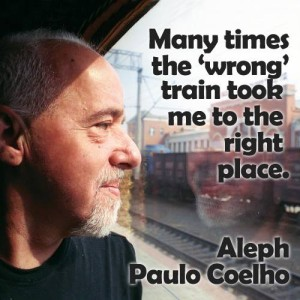 Tonight's post inspired by this fabulous quote by Paulo Coelho, author of The Alchemist.