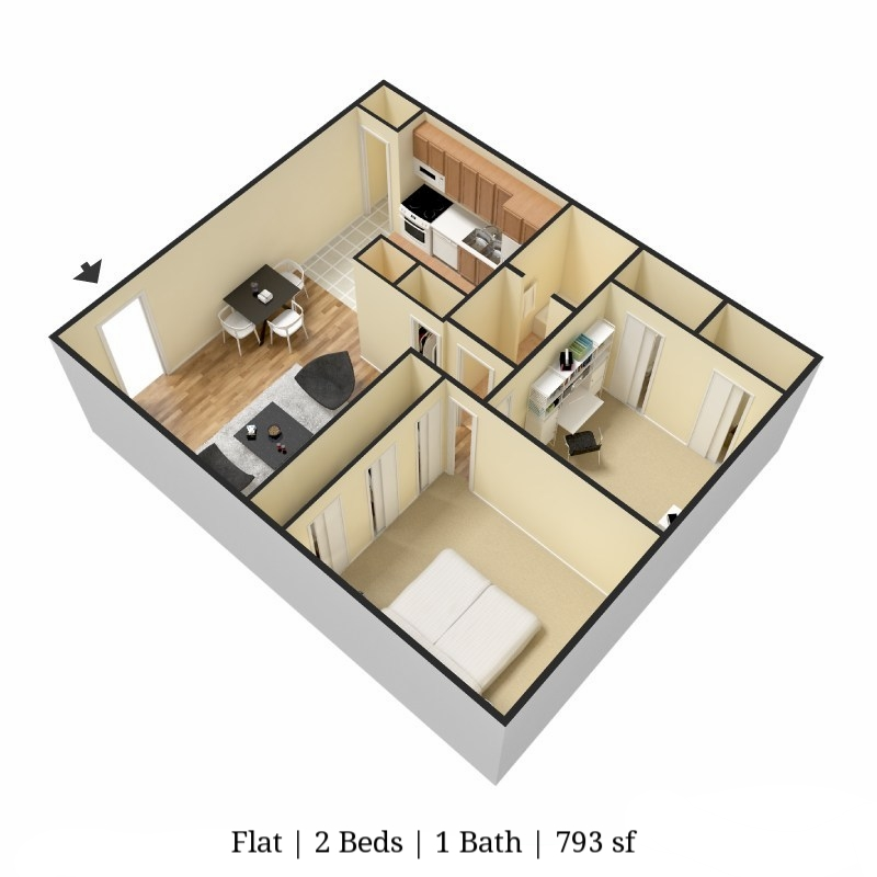 FLAT 2 bed 1 bath 973 sq ft.jpg