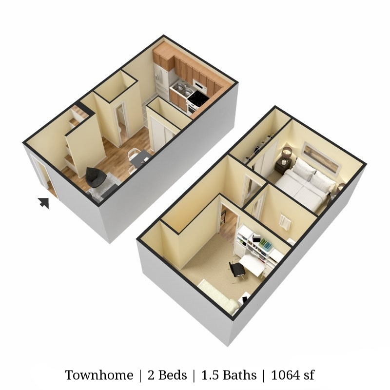 TOWNHOME 2 bed 1.5 bath 1064 sq ft.jpg