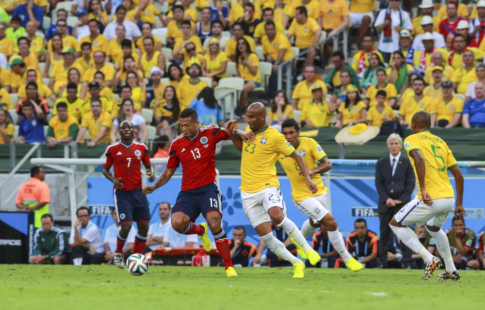 Colombia v Brazil