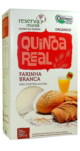 Farinha de quinoa real
