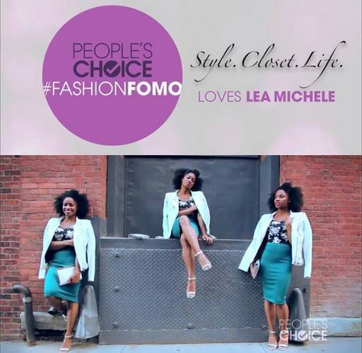 People Choice Awards   Video #FashionFomo feature on Lea Michele