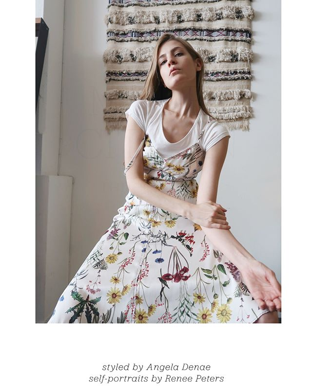 #Newwork : sustainable styling in full effect with the wonderful @renee.elizabethpeters for this months spread for my sustainable chic contribution in @thecloseteur !! Learn more about Renee and you peep how I styled straight from her closet mixed with pieces from @renttherunway (all on page 25 in issue 15)  #styledbyangeladenae #sustainablefashion #capsulewardrobe #closetstyling