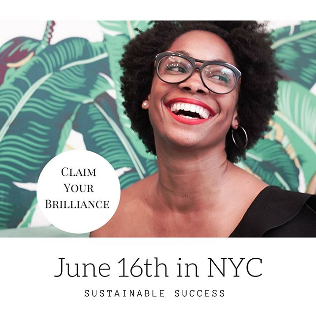 Have you been yearning for a new chance to be motivated and inspired in this up and coming sustainable world? Come check out Sustainable Success in NYC, an event I am proud to be apart of to showcase my sustainable business and see others  @the_lifestylelounge *****⠀⠀⠀⠀⠀⠀⠀⠀⠀ Think: soulful business conference meets intimate classroom meets networking party. That's what Sustainable Success is all about.⠀⠀⠀⠀⠀⠀⠀⠀⠀ ⠀⠀⠀⠀⠀⠀⠀⠀⠀ Early bird tickets are running out fast.  You have until June 1st!!!! Follow the link in my bio for more information. ⠀⠀⠀⠀⠀⠀⠀⠀⠀ *****⠀⠀⠀⠀⠀⠀⠀⠀⠀ #SustainableSuccessNYC  #ConsciousEntrepreneur  #ConsciousLeader  #HeartcenteredEntrepreneur  #BusinessConference  #NYCEntrepreneur  #Healthcoaches  #Lifecoaches  #HolisticBusiness  #LadyBoss  #Bossman  #SuccessMindset  #EntrepreneurLife