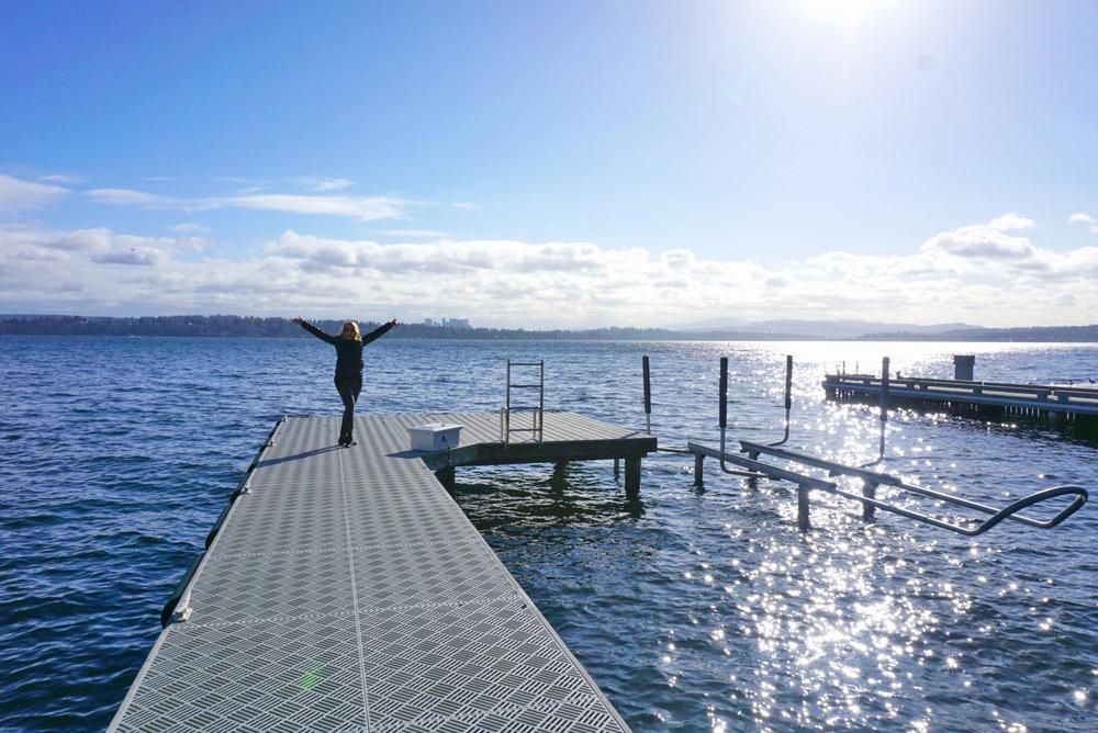 Lake adventures await!