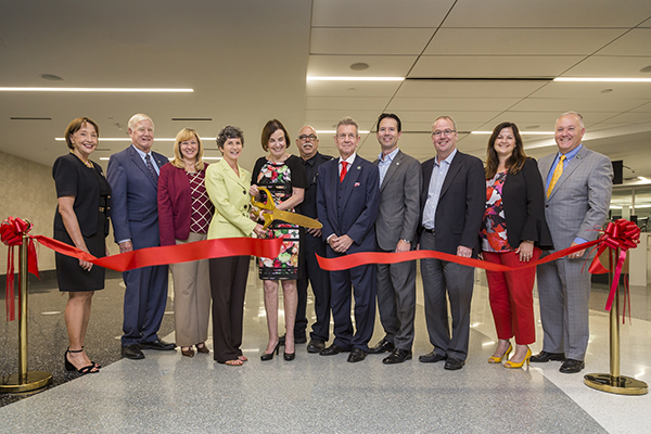 Unveiling of one of the first international arrivals facilities with full biometric entry at San Diego International Airport. No more long passport lines! San Diego's airport now has the most streamlined entry process into California and the United States.