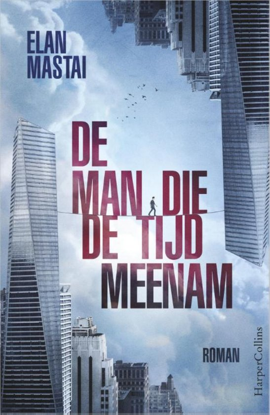 "Now available in Dutch as—""De man die de tijd meenam"""