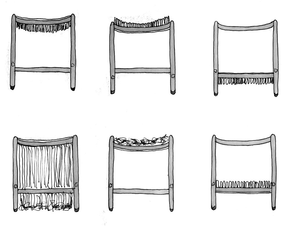 Different Iterations on Stool Design