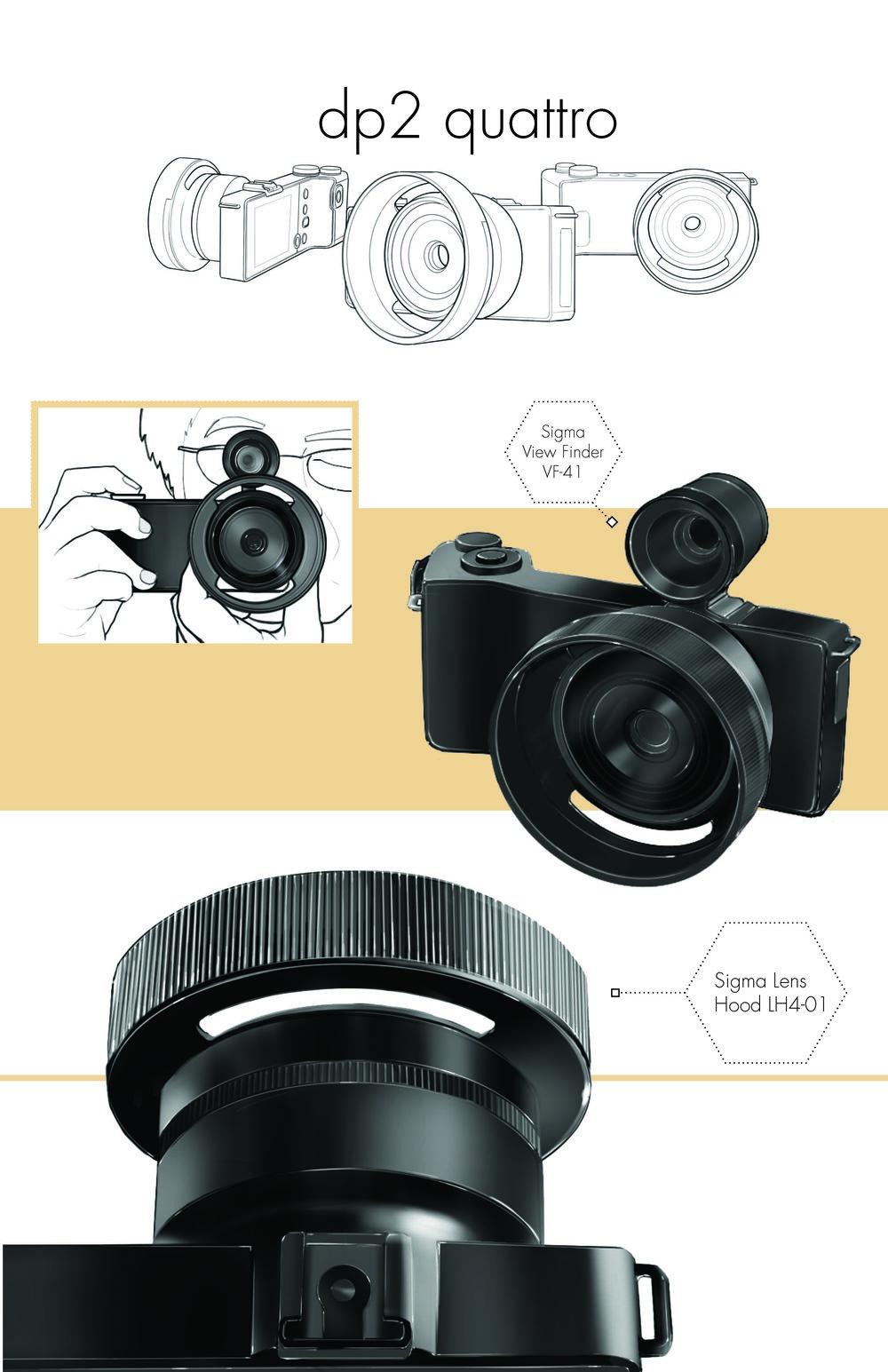Digital Rendering of a Camera /   Wacom tablet, illustrator