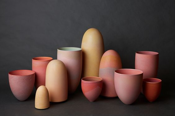 I love that these forms remind me of lipstick tubes! Actually, can someone make these colors for my lips, too?
