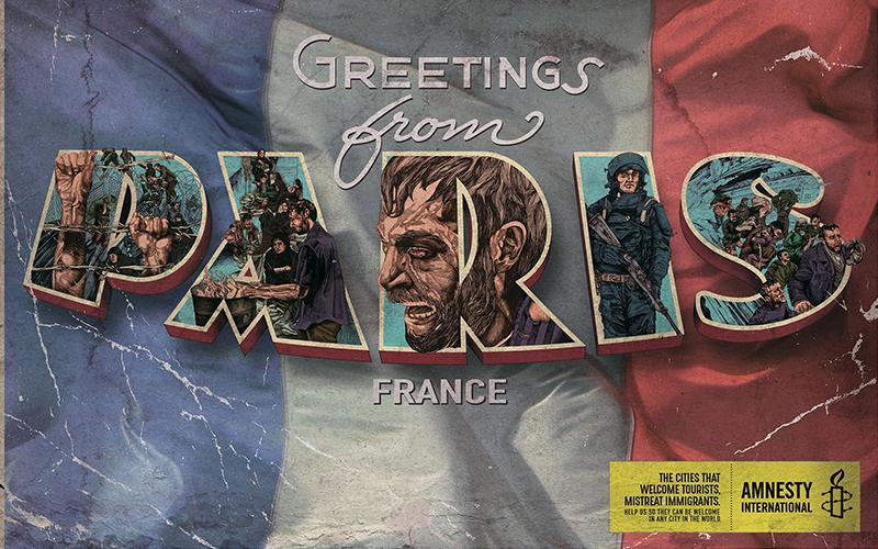 """Greetings From Paris"""