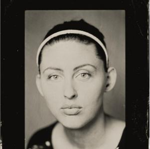 Tintype portrait by Geoffrey Berliner