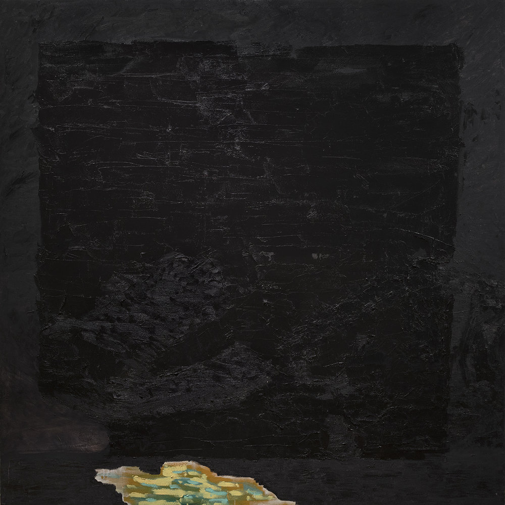 Black Box, oil on canvas, 68x68 in.