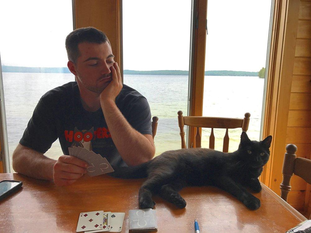 I am really good at cards.