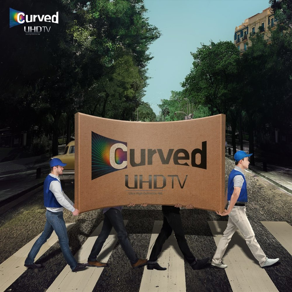 Curved UHD TV launch 2014