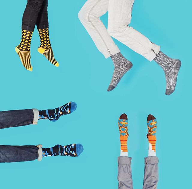 Had so much fun collaborating with @keepitsimplesocks! Unrelated: new work coming soon!