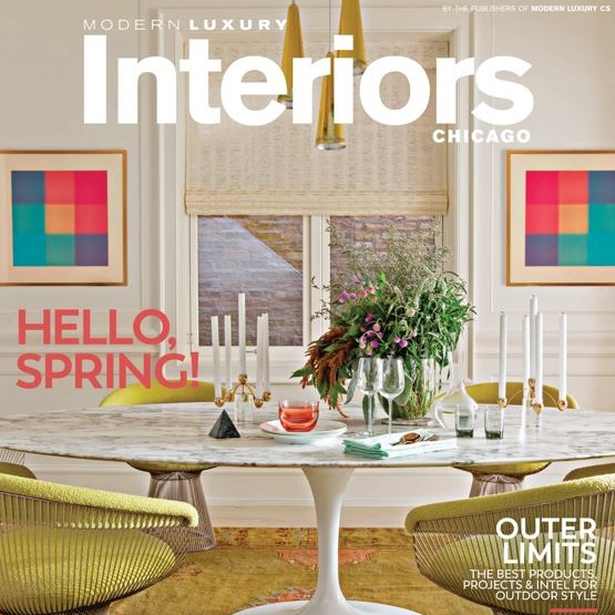 MODERN LUXURY INTERIORS   Modern Oasis | April 2017