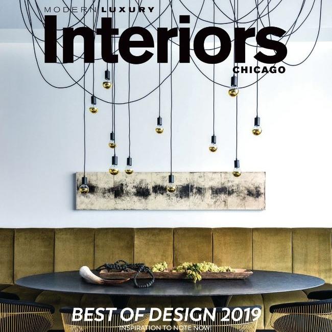 MODERN LUXURY INTERIORS   Best Fireplace Wall | January 2019