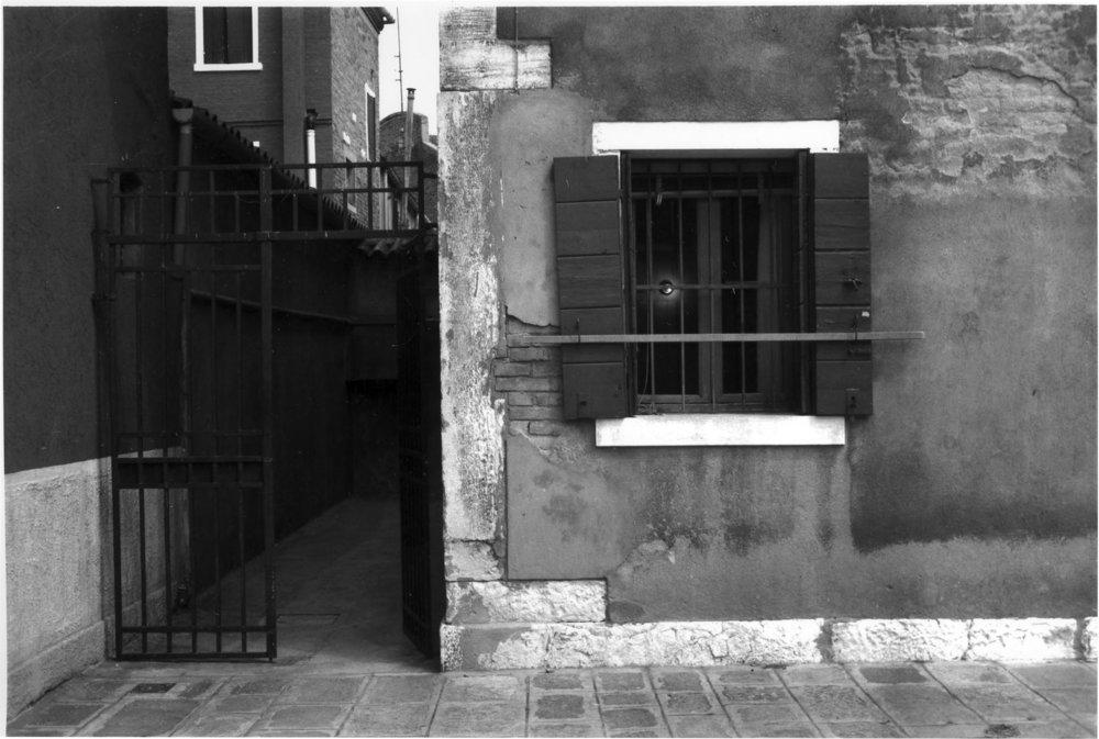 Murano Window. 1984. Sherri Silverman. Gelatin silver print.