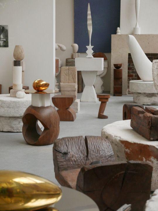 Constantin Brancusi studio
