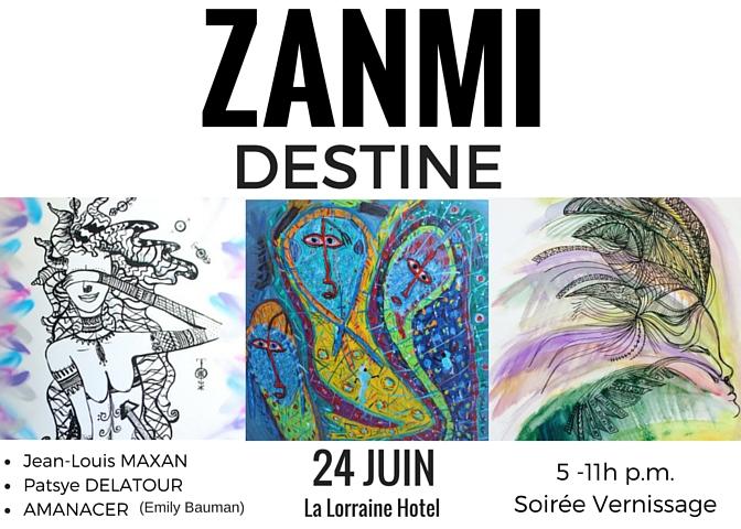 Zanmi Destine Art Show in Haiti