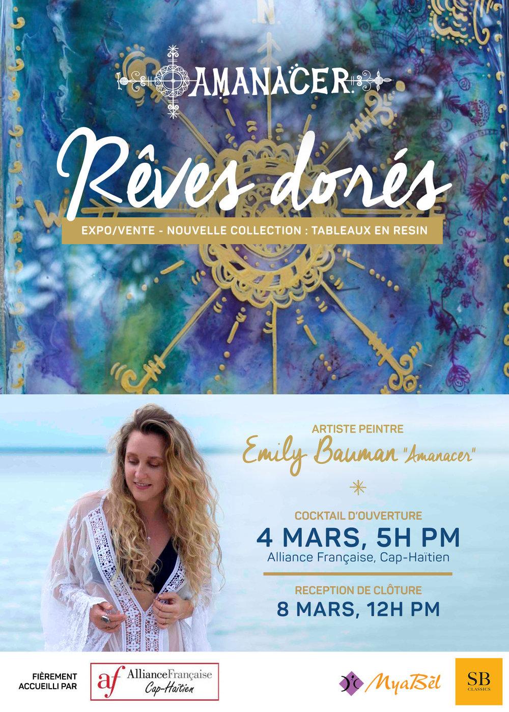 Reves Dores _ Golden Dreams Poster