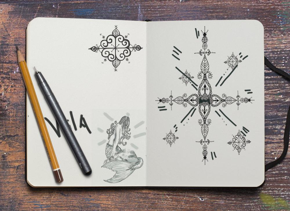 sketching, Amanacer Art, design,