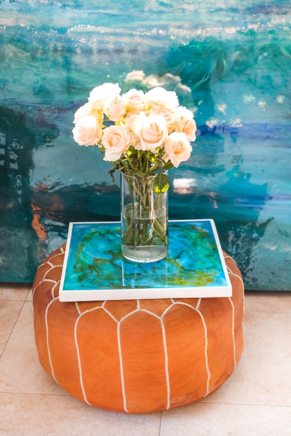 new resin art table available