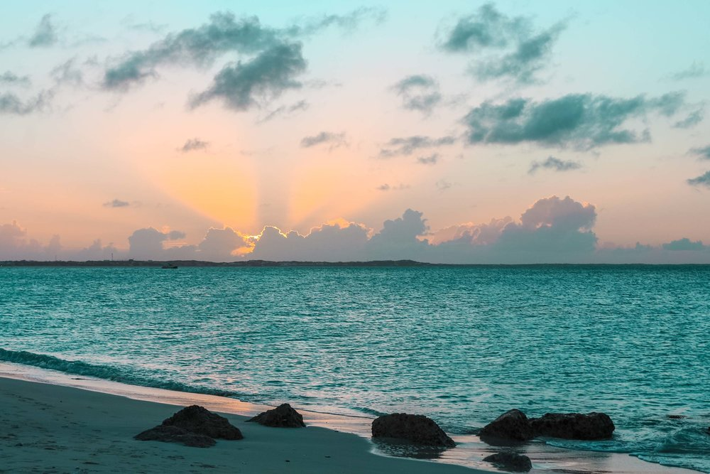 Chasing beauty - in Turks and Caicos Islands