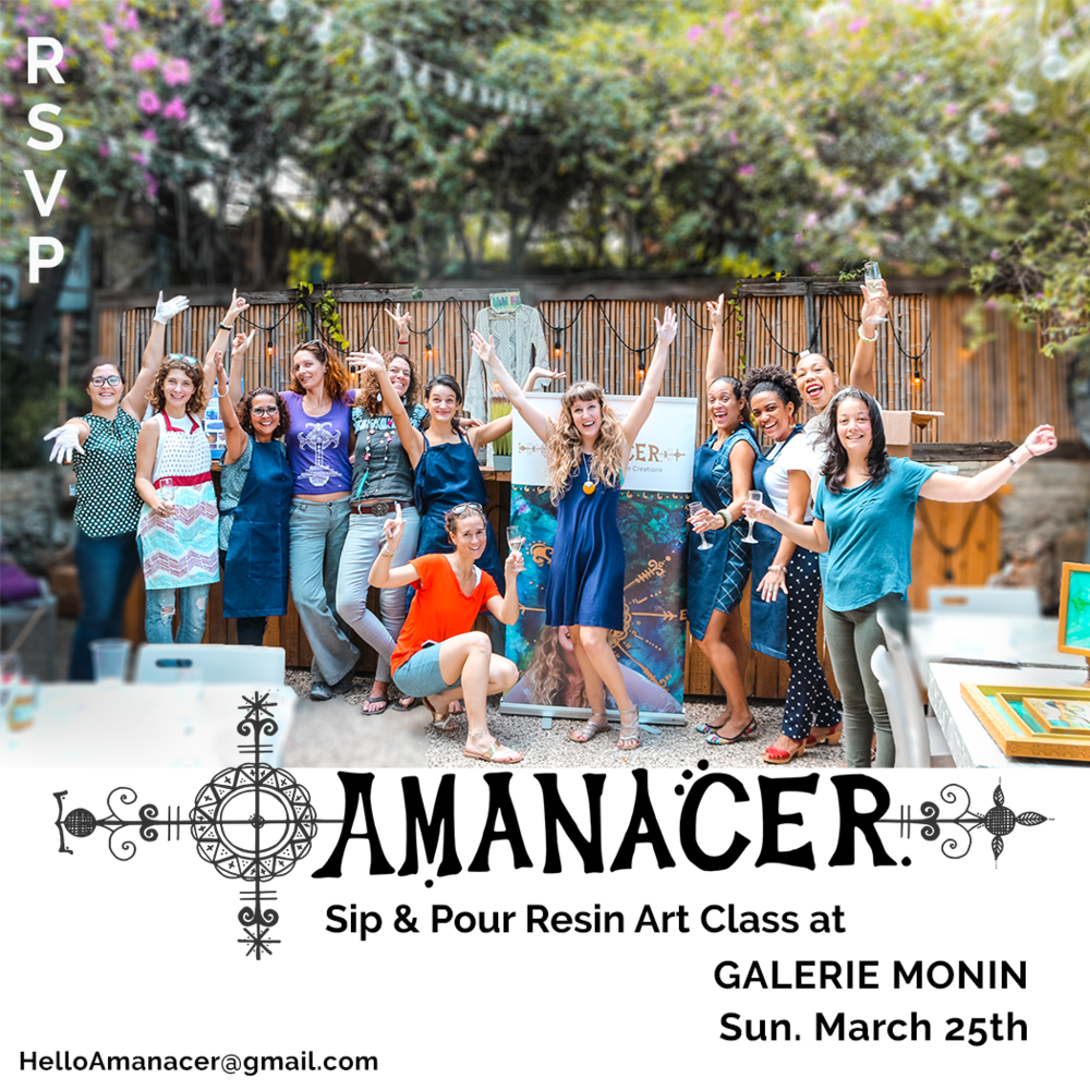 Sip and Pour with Amanacer March 25