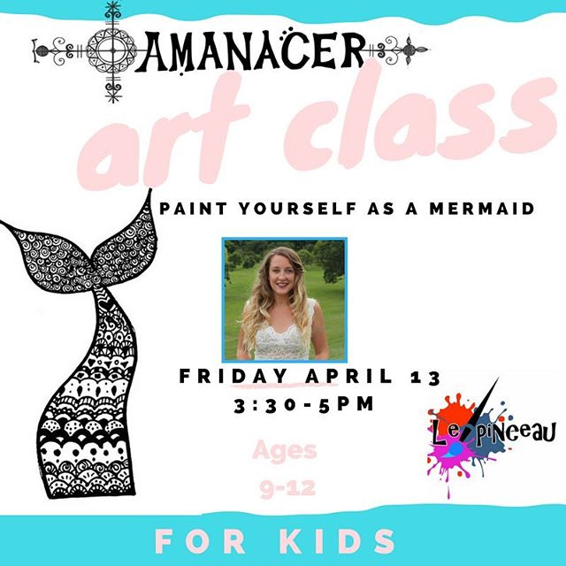 TODAY is the day I'll teach my first kid's art class. The exercise is to paint yourself as a #mermaid or merman. It's about imagining yourself at your most powerful and beautiful so we are using black and white paint only, honing in on personal symbols. No skill is required, just imagination! Next Saturday is the adult edition. 🧜🏼‍♀️🧜🏿‍♂️ thanks to @lepinceauht in Petionville for hosting and pushing me further out of the studio into the classroom. 🧜🏼‍♀️🧜🏿‍♀️😄 . . You all know I believe EVERYBODY is an artist, as humans it's our creative birthright. So I hope to see some friendly faces this afternoon and next Saturday too 😉🧜🏼‍♀️🙏 #AmanacerArt #createEveryDay #Haiti #artclass
