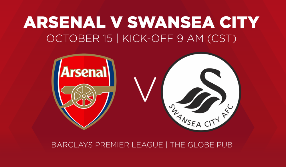 Arsenal V Swansea City October 15