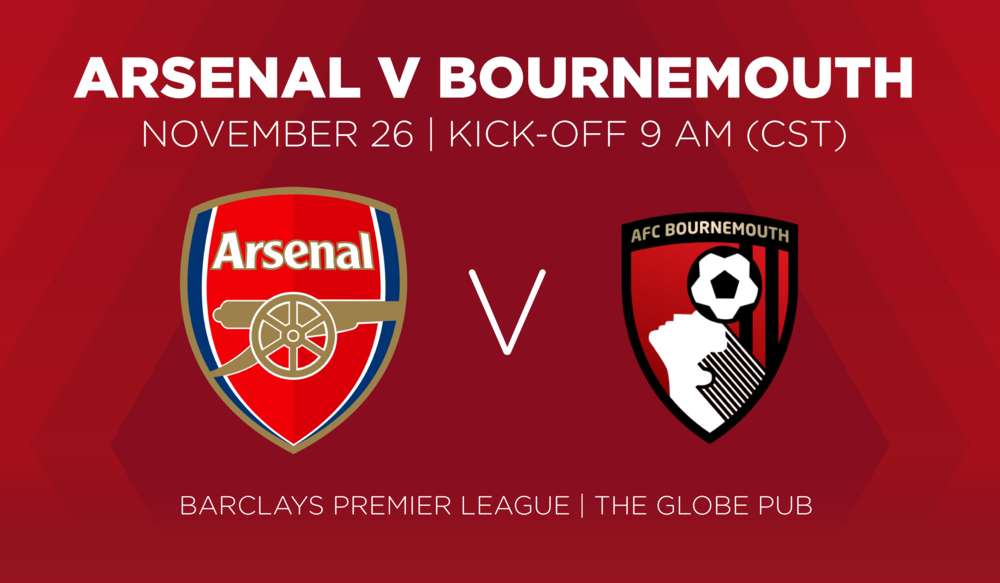 Arsenal V Bournemouth