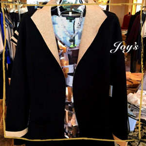 Look Smart /Stay Warm in this Classic Black Jacket