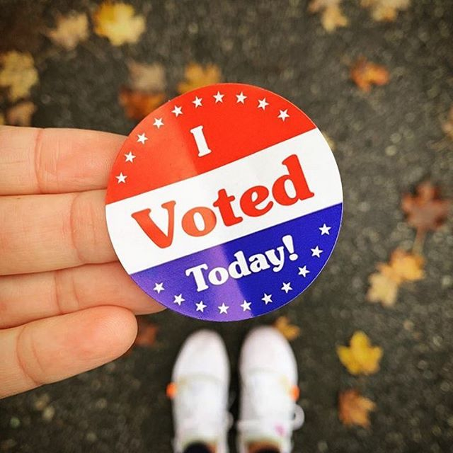 It's a privilege and a duty to vote. It's the moment we get to speak to power and participate in the experiment that is America. We also honor all the ancestors who came before us that fought so hard to give us this day. . . #vote #vote2018 #rockthevote #elections2018 #drinks #america #democrat #republican #usa #friscobrandy