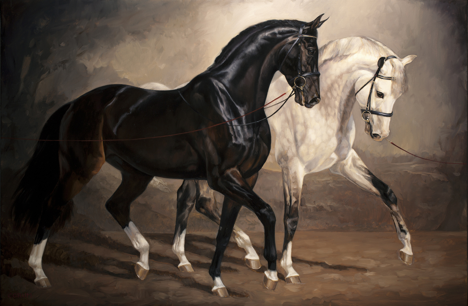 Jaime Corum Equine Art