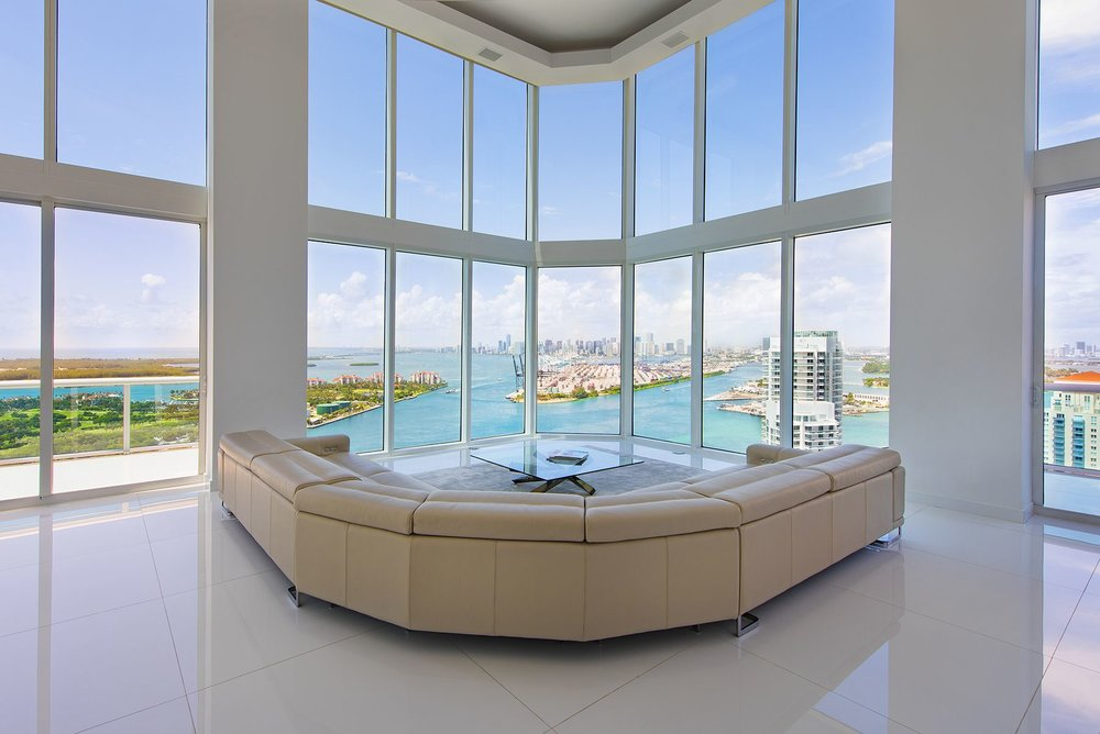 PH4003 Portofino Tower South Pointe Miami Beach Penthouse