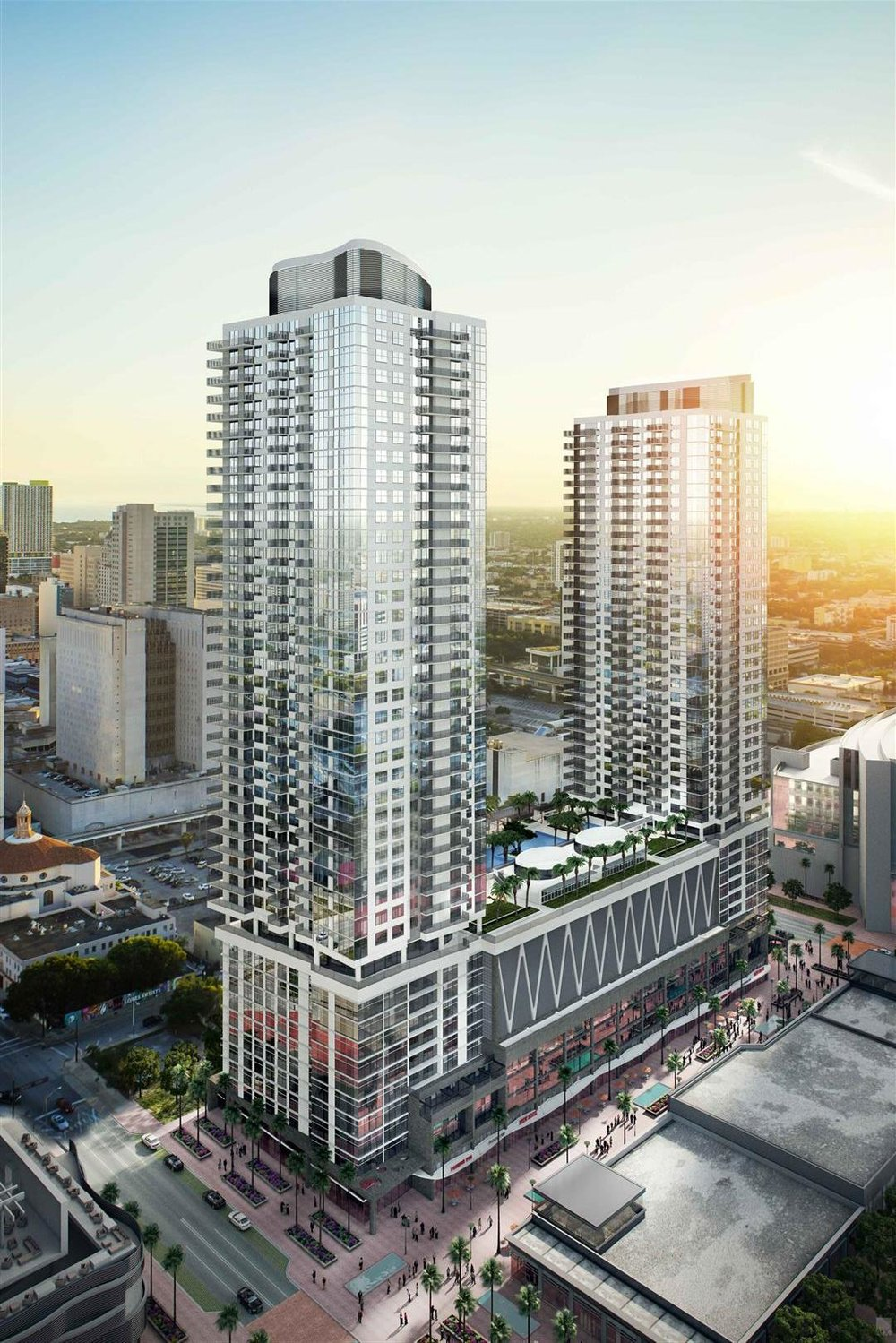 Seventh Street Apartments Miami Worldcenter
