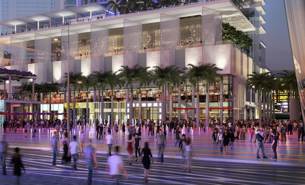 Miami Worldcenter Main Street Retail