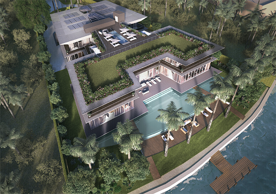 44 Star Island $24 Million Miami Beach Mansion
