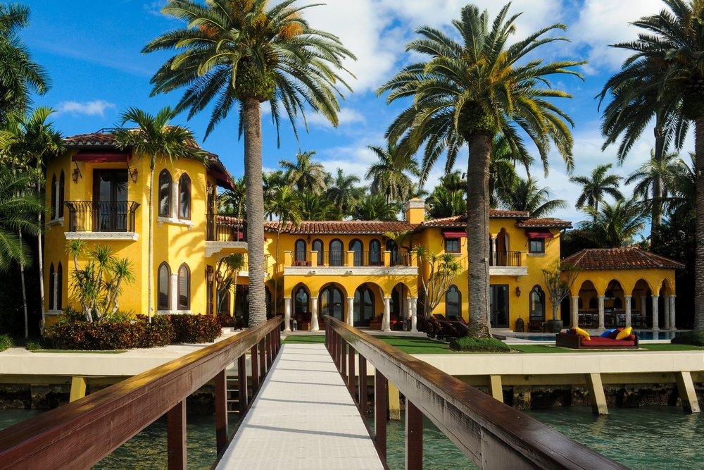 Enrique Iglesias Villa Jasmine Sunset Islands Miami Beach