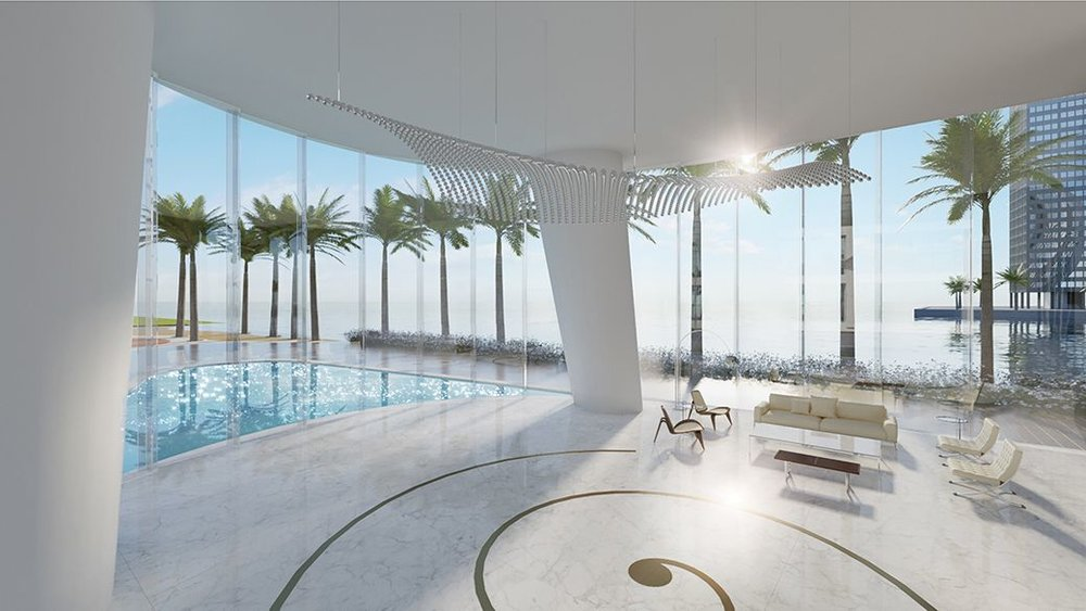 Aston Martin Residences Pool