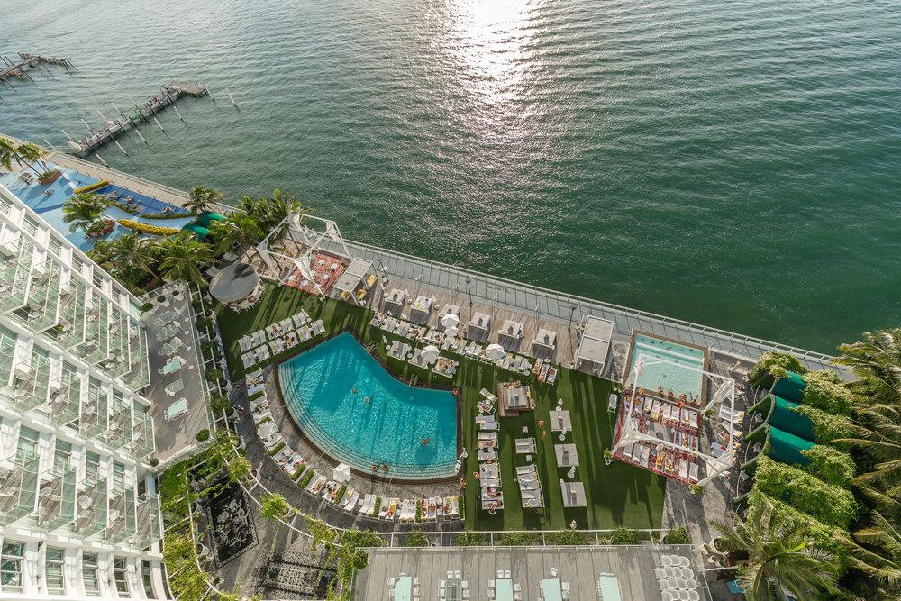 Mondrian South Beach Pool Menin Hospitality Announces Renovation