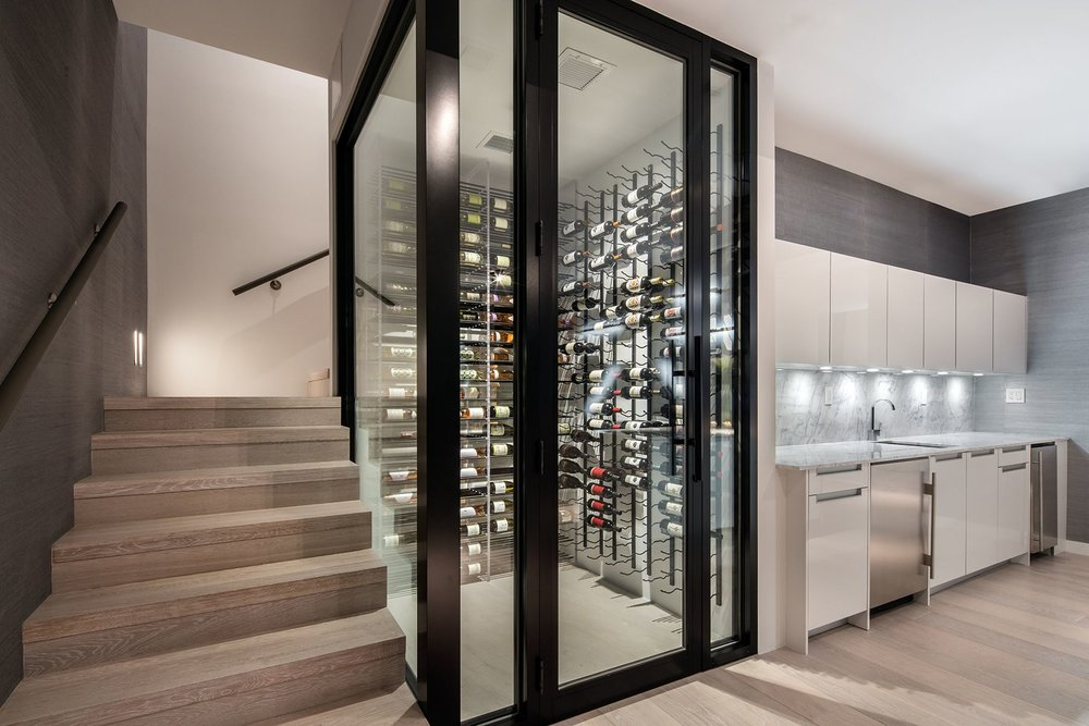 Featured Listing: South-Of-Fifth Beachfront at 321 Ocean Drive Lists for $9.75 Million Wine Room